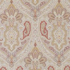 Cinnamon Medallion Drapery and Upholstery Fabric by Duralee