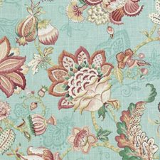 Caribbean Floral Large Drapery and Upholstery Fabric by Duralee