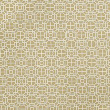 Lemon Zest Geometric Drapery and Upholstery Fabric by Trend