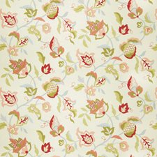 Blush Floral Drapery and Upholstery Fabric by Trend