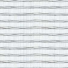 White/Black Stripes Drapery and Upholstery Fabric by Kravet