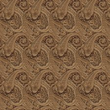 Brown Jacquard Pattern Drapery and Upholstery Fabric by Trend
