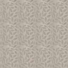 Grey Mist Leaves Drapery and Upholstery Fabric by Trend