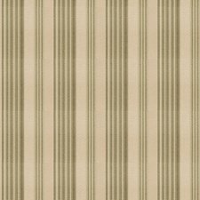 Sage Stripes Drapery and Upholstery Fabric by Trend