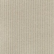 Flax Herringbone Drapery and Upholstery Fabric by Kravet