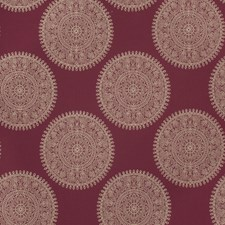 Berry Medallion Drapery and Upholstery Fabric by Fabricut