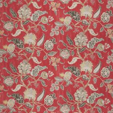 Radish Floral Drapery and Upholstery Fabric by Fabricut
