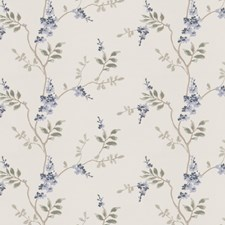Chambray Embroidery Drapery and Upholstery Fabric by Fabricut