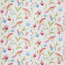 Multi Bright Animal Drapery and Upholstery Fabric by Stroheim