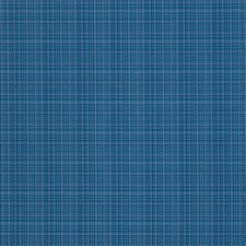 Cobalt Small Scale Woven Drapery and Upholstery Fabric by Stroheim