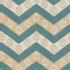 Ocean Geometric Drapery and Upholstery Fabric by Fabricut