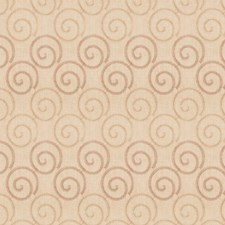 Rose/Beige Embroidery Drapery and Upholstery Fabric by Trend