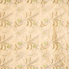 Peridot Embroidery Drapery and Upholstery Fabric by Vervain