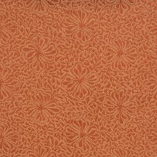 Red Jasper Floral Drapery and Upholstery Fabric by Vervain