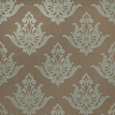 Lichen Damask Drapery and Upholstery Fabric by Vervain