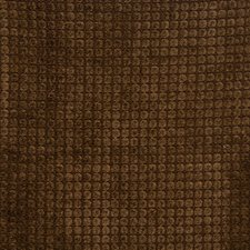 Walnut Geometric Drapery and Upholstery Fabric by Vervain