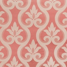 Poppy Damask Drapery and Upholstery Fabric by Vervain