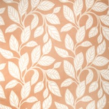 Blush Leaves Drapery and Upholstery Fabric by Vervain