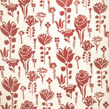 Primrose Floral Drapery and Upholstery Fabric by Vervain