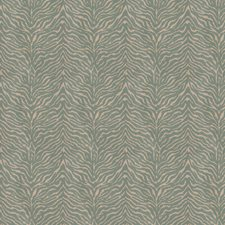 Turquoise Animal Drapery and Upholstery Fabric by Fabricut