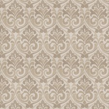 Natural Damask Drapery and Upholstery Fabric by Trend