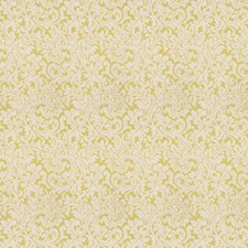 Citrine Damask Drapery and Upholstery Fabric by Fabricut