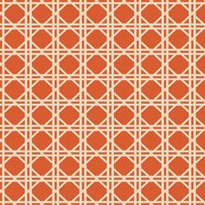 Orange Asian Drapery and Upholstery Fabric by Fabricut