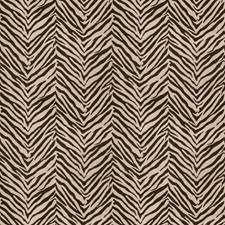 Black Animal Drapery and Upholstery Fabric by Trend