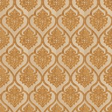 Gold Jacquard Pattern Drapery and Upholstery Fabric by Trend