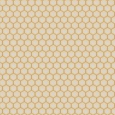 Gold Geometric Drapery and Upholstery Fabric by Fabricut