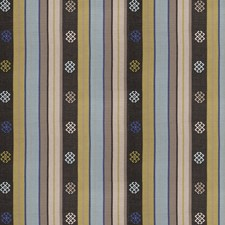 Maritime Embroidery Drapery and Upholstery Fabric by S. Harris