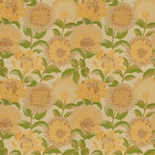 Cornsilk Floral Drapery and Upholstery Fabric by Fabricut