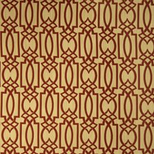 Poppy Geometric Drapery and Upholstery Fabric by Fabricut
