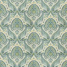 Peacock Paisley Drapery and Upholstery Fabric by Fabricut