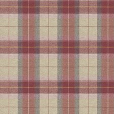 Blush Check Drapery and Upholstery Fabric by Stroheim