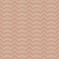 Coral Flamestitch Drapery and Upholstery Fabric by Fabricut
