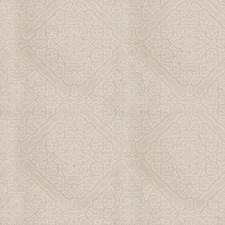 Ecru Lattice Drapery and Upholstery Fabric by Fabricut