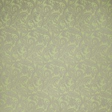 Spearmint Paisley Drapery and Upholstery Fabric by Stroheim