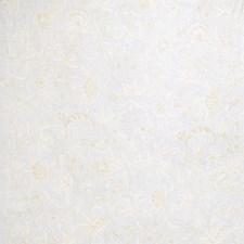 Winter White Floral Drapery and Upholstery Fabric by Stroheim