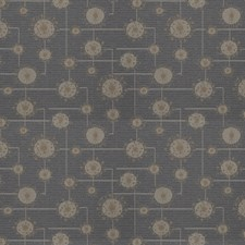 Silver Geometric Drapery and Upholstery Fabric by Fabricut