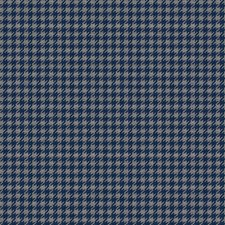 Navy Spice Herringbone Drapery and Upholstery Fabric by S. Harris