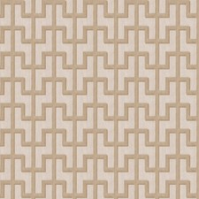 Ivory Sword Lattice Drapery and Upholstery Fabric by S. Harris