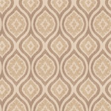 Ecru Diamond Drapery and Upholstery Fabric by Trend