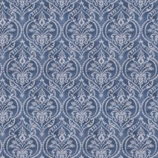 Denim Print Pattern Drapery and Upholstery Fabric by Fabricut