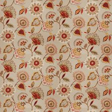 Grey Frost Floral Drapery and Upholstery Fabric by Fabricut