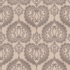 Platinum Medallion Drapery and Upholstery Fabric by Trend