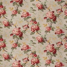 Henna Floral Drapery and Upholstery Fabric by Fabricut