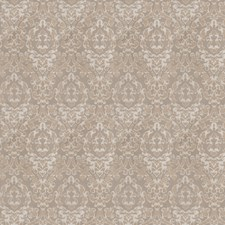 Grey Silver Damask Drapery and Upholstery Fabric by Fabricut