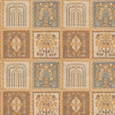 Ash Brown Floral Drapery and Upholstery Fabric by Stroheim
