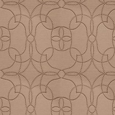 Ash Brown Dots Drapery and Upholstery Fabric by Stroheim